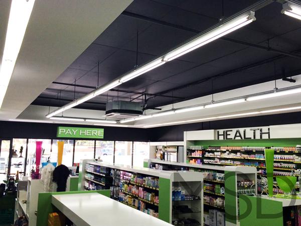 Ridge Pharmacy Lighting