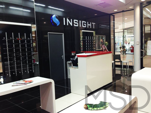 Insight Optometrists Signage